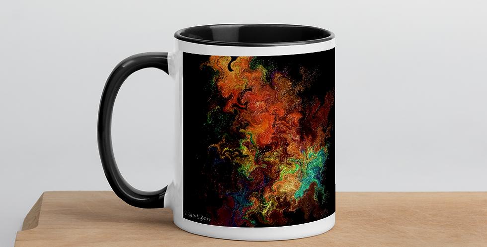"""""""Abstract Flame"""" Coffee Mug"""