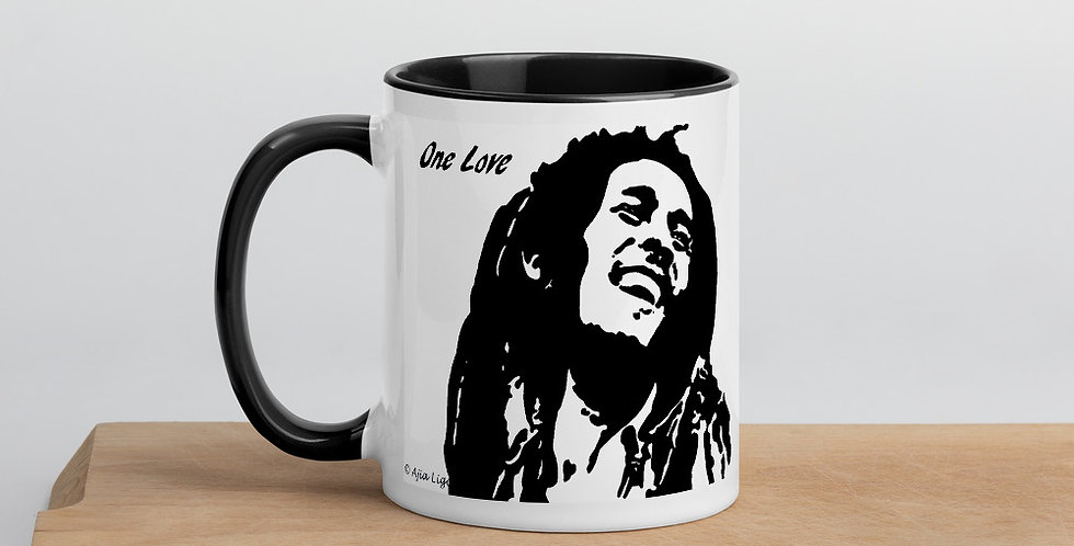 """One Love"" Coffee Mug"