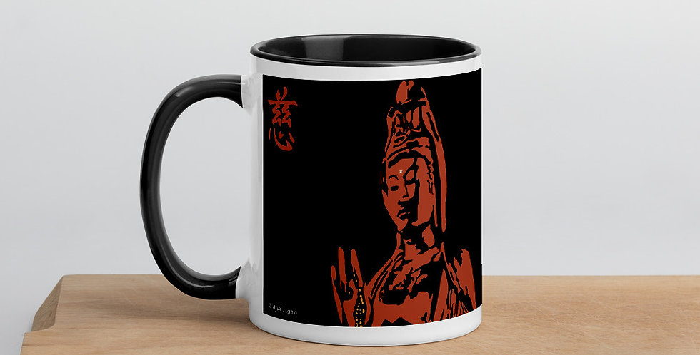 """Quan Yin II (Terra Cotta)"" Coffee Mug"