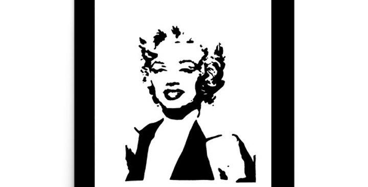 """Ms. Monroe"" Art Print"