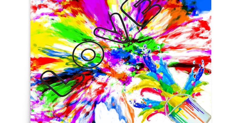 """Splash Of Love"" Art Print"