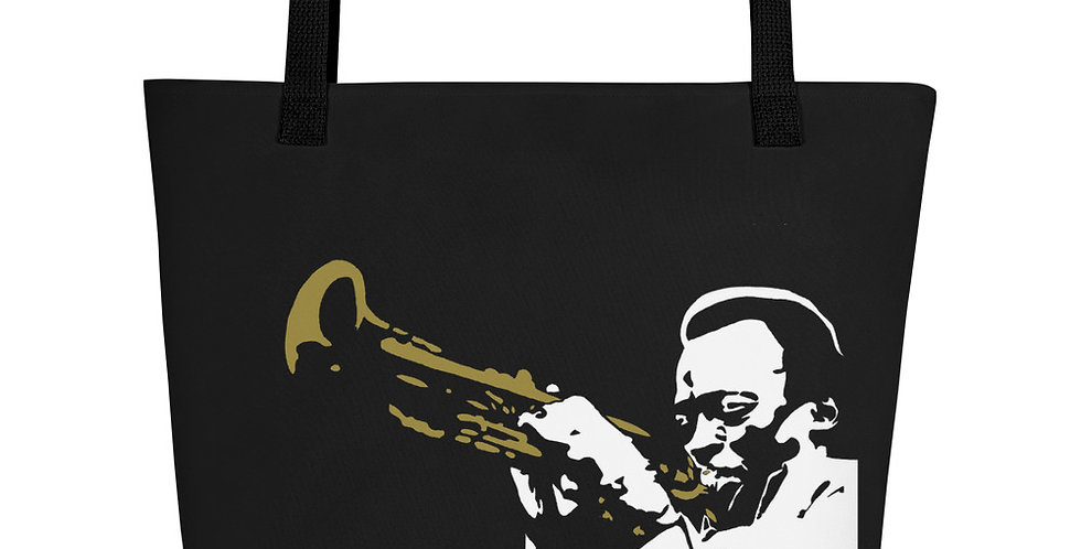 """Miles (Jazzed)"" Tote Bag"