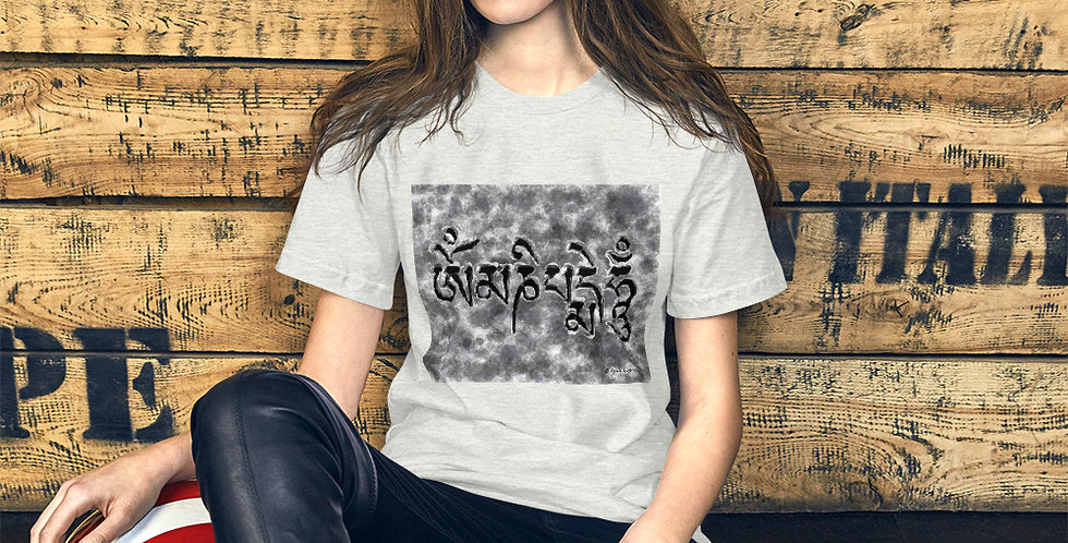 """Om Mani (Storm)"" Unisex T-Shirt"