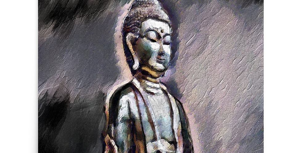 """Buddha (Shadow) "" Art Print"