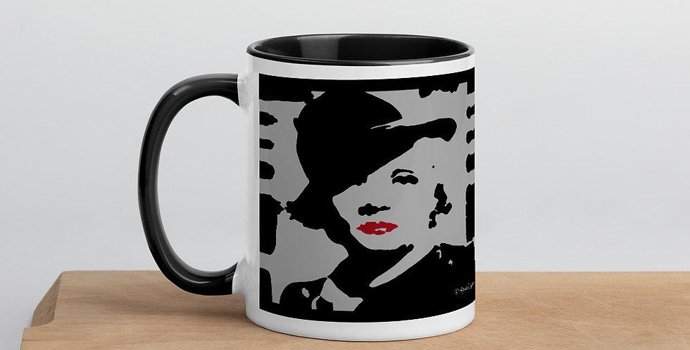 """""""Marlene II (Silver Screen)"""" Coffee Mug"""