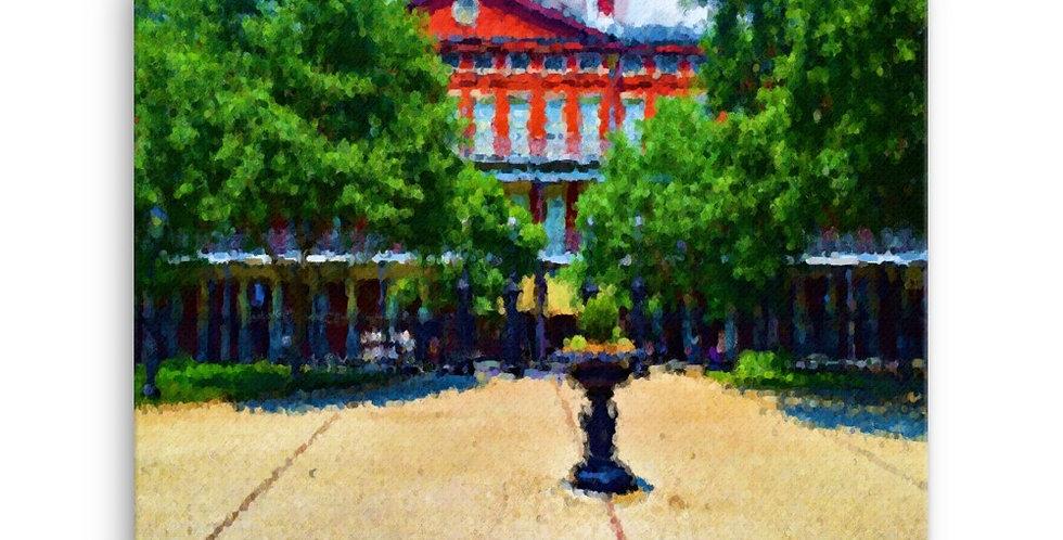 """Jackson Square IV"" Canvas Print"