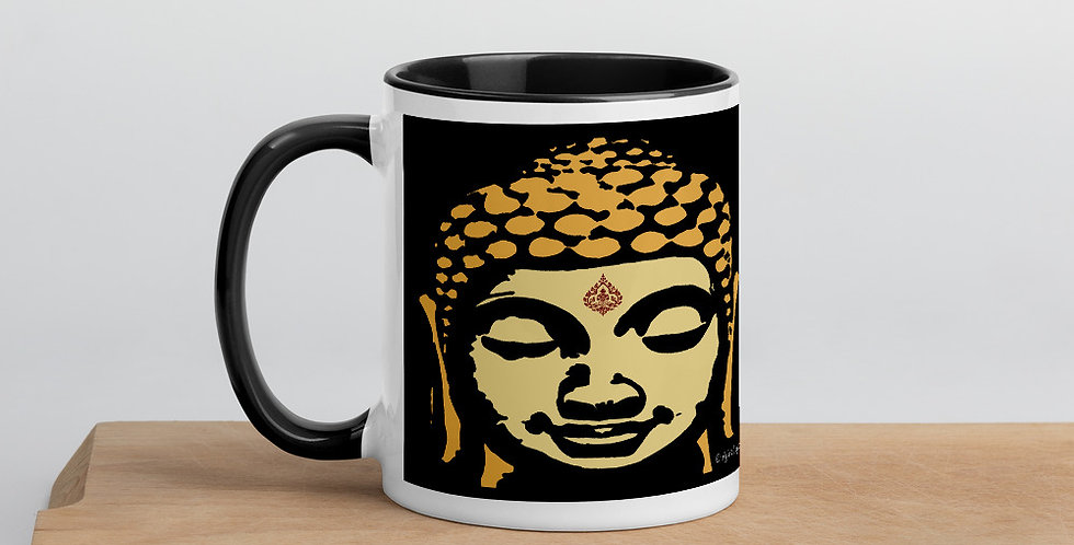 """Double Buddha"" Coffee Mug"