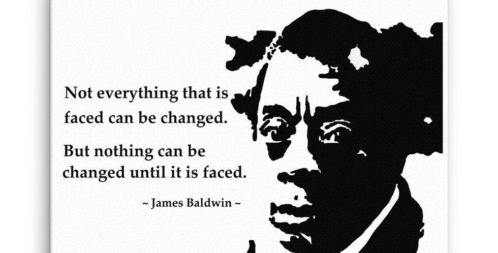 """Baldwin"" Canvas Print"