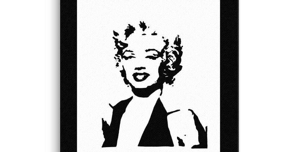 """Ms. Monroe"" Canvas Print"