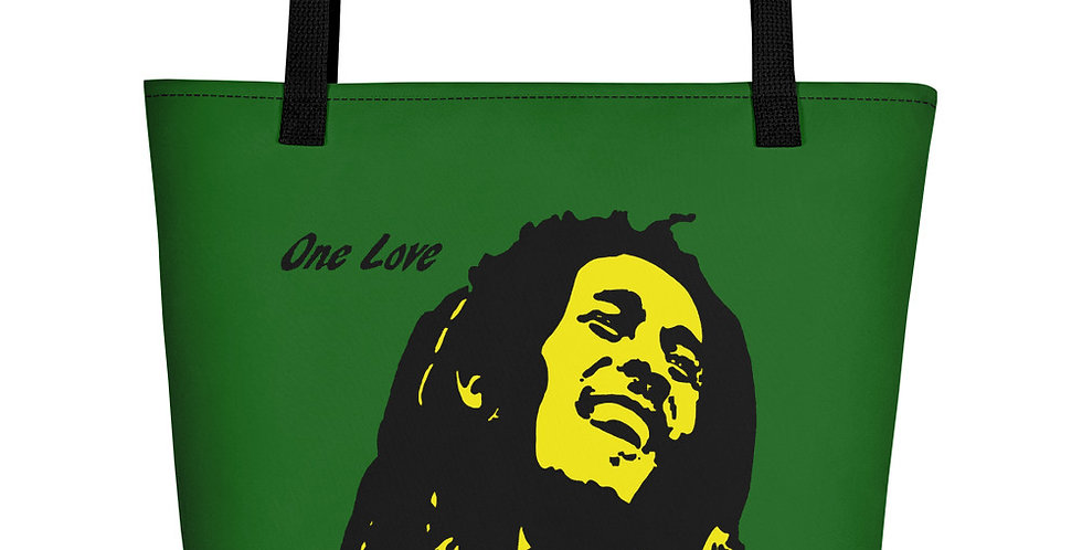 """One Love (Jamaica)"" Tote Bag"
