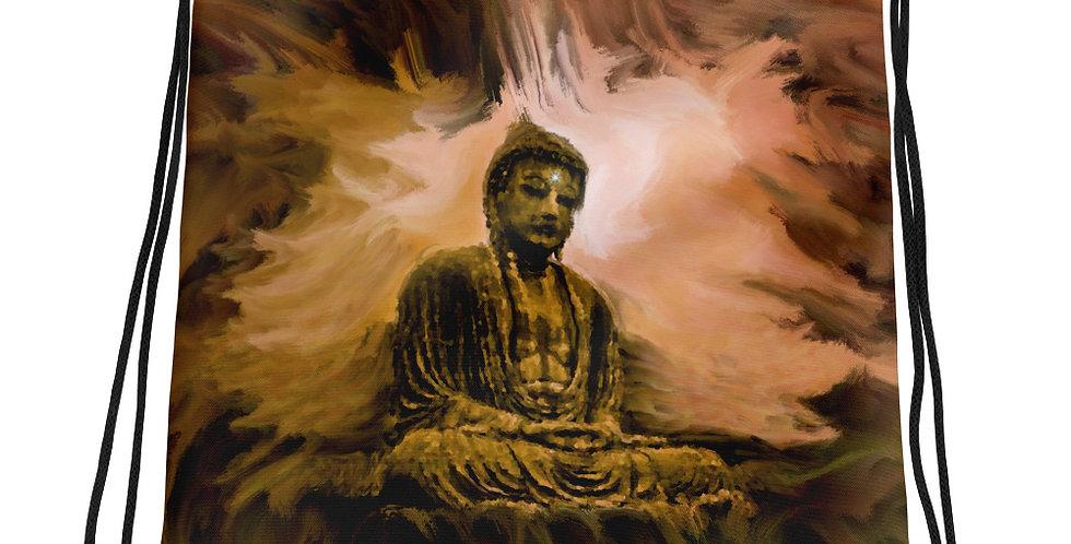 """Buddha Aura"" Drawstring Bag"
