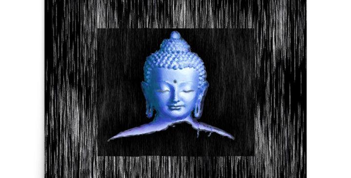 """Silver Buddha"" Art Print"