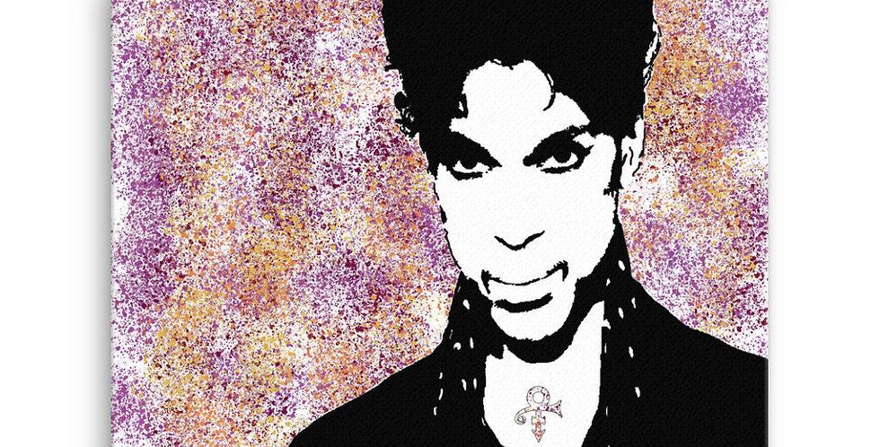 """Prince (Graffiti)"" Canvas Print"