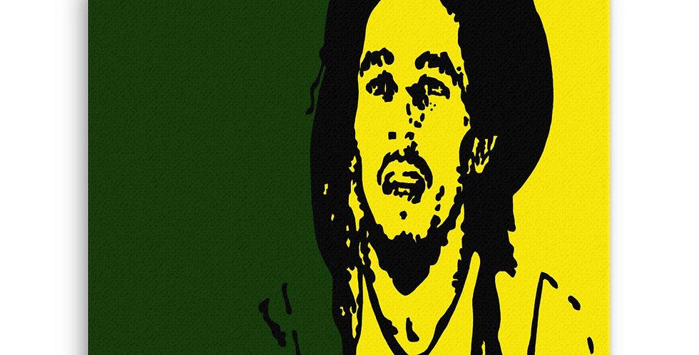 """Marley (Jamaica)"" Canvas Print"