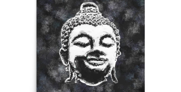 """Buddha (Graffiti)"" Art Print"