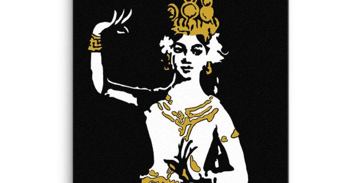"""Apsara II"" Canvas Print"