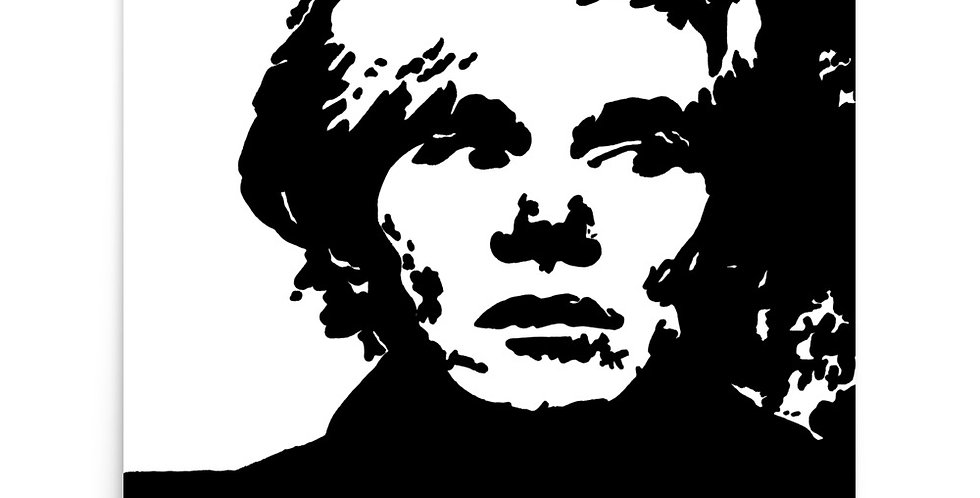 """""""Warhol"""" Art Print"""