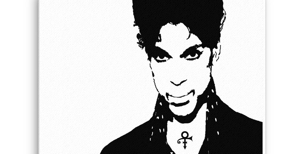 """Prince"" Canvas Print"