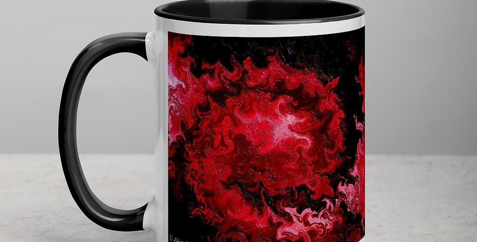 """""""Abstract Flame V"""" Coffee Mug"""