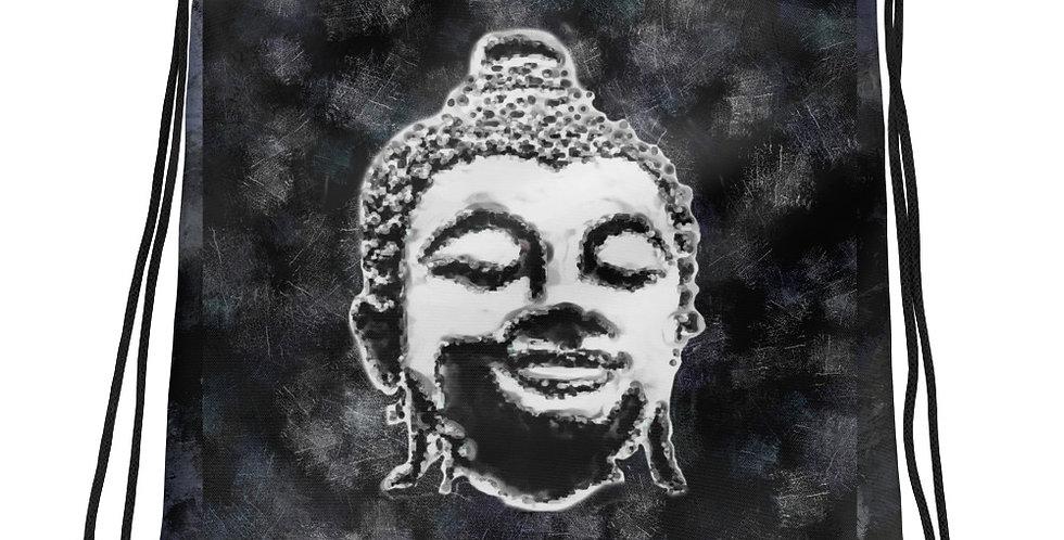 """""""Buddha (Graffiti)"""" Drawstring Bag"""