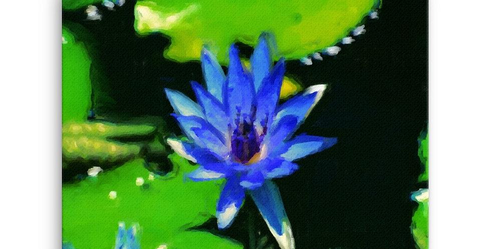 """Lotus VI"" Canvas Print"
