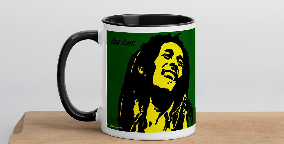 """One Love (Jamaica)"" Coffee Mug"