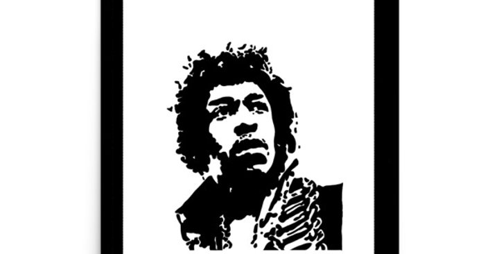"""Hendrix II"" Art Print"