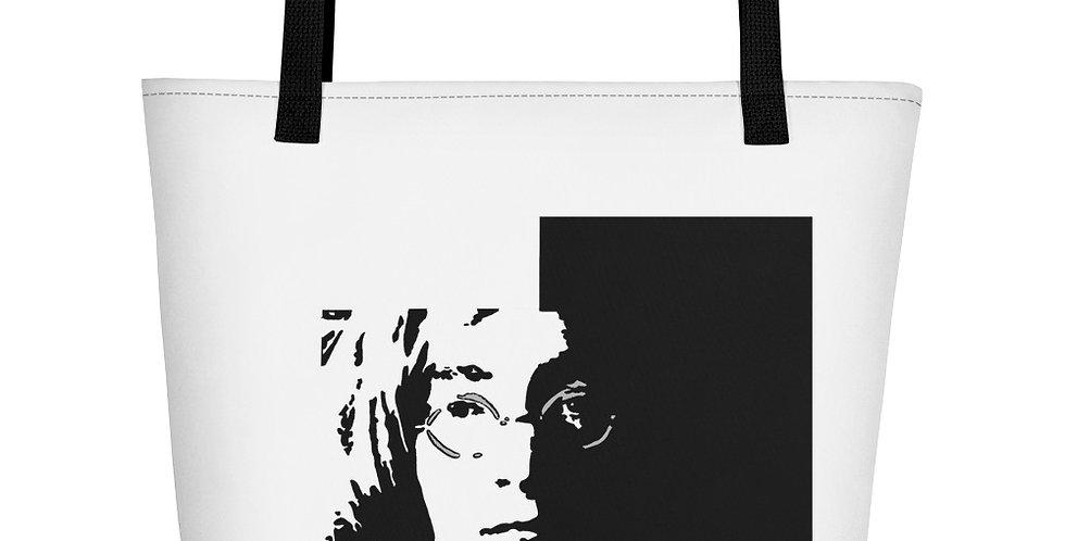 """""""Lennon II"""" Tote Bag"""