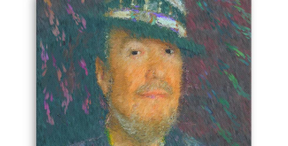 """Dr. John"" Canvas Print"