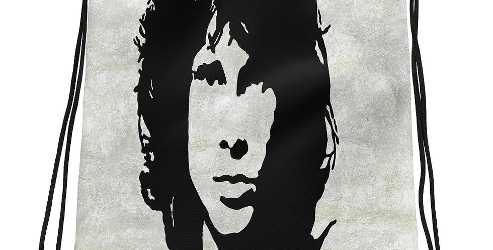 """Jim (Graffiti)"" Drawstring Bag"