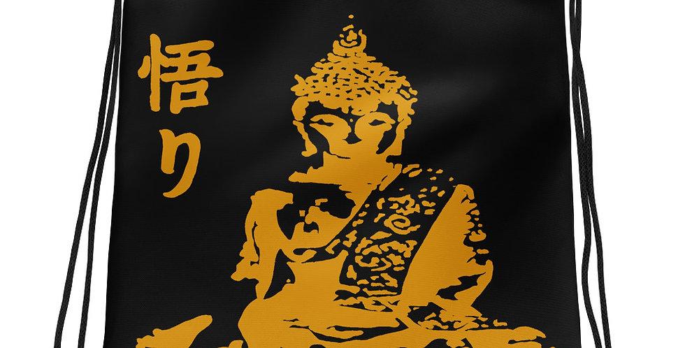 """""""Enlightenment (Gold)"""" Drawstring Bag"""