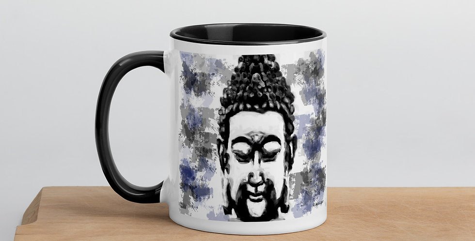 """Buddha (Splatter)"" Coffee Mug"