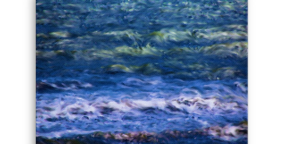 """""""Into The Blue"""" Canvas Print"""