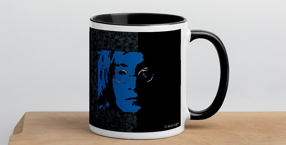 """Lennon II (Midnight)"" Coffee Mug"