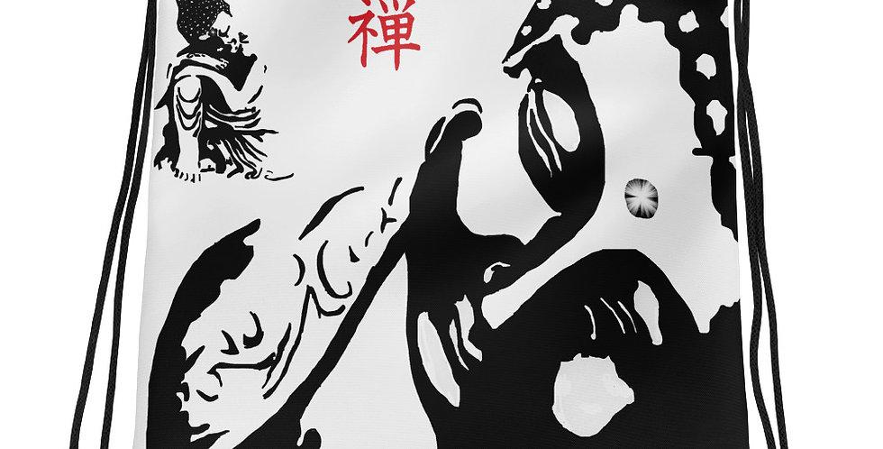 """""""Zen Buddhas"""" Drawstring Bag"""