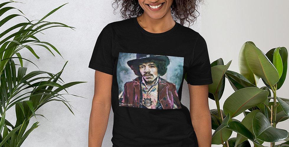 """""""Jimi (Vivid)"""" Unisex T-Shirt"""