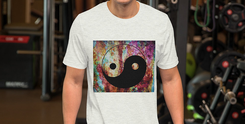 """""""Yin-Yang (Abstract Graffiti)"""" Unisex T-Shirt"""