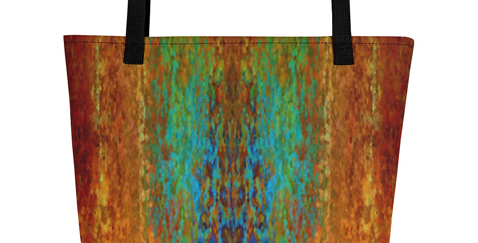 """Blue Rust"" Tote Bag"