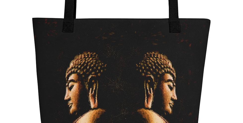 """Buddha Mirror (Metallic)"" Tote Bag"