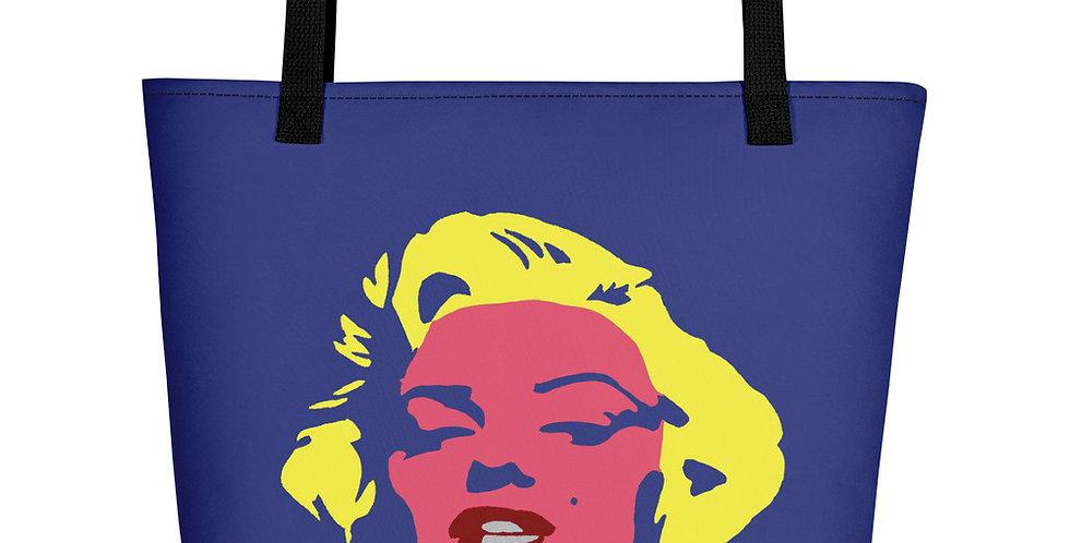 """""""Marilyn (Pop)"""" Tote Bag"""