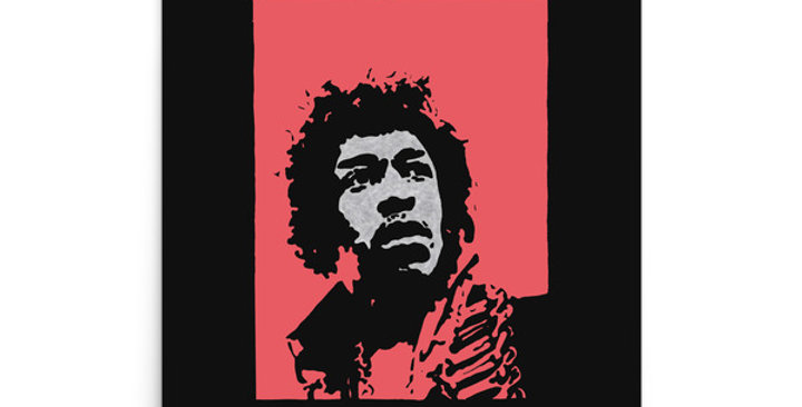 """Hendrix II (Pop)"" Art Print"