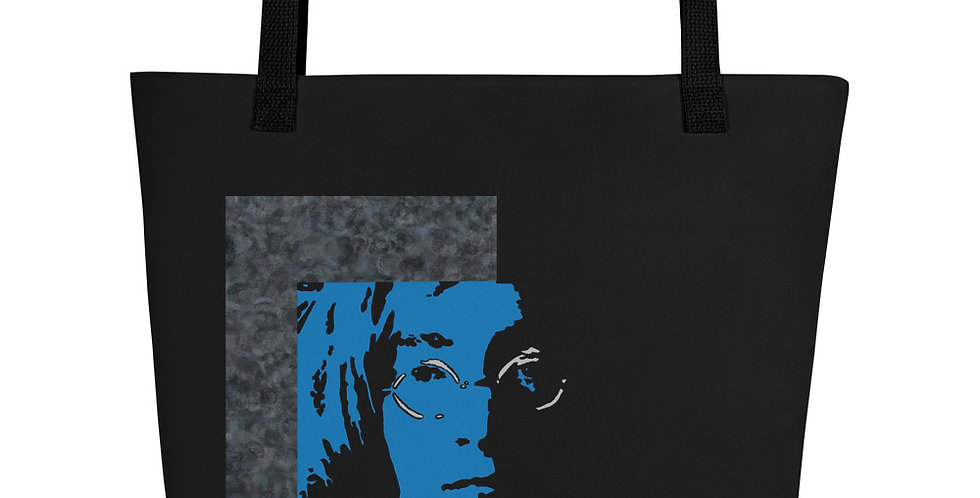 """Lennon II (Midnight)"" Tote Bag"