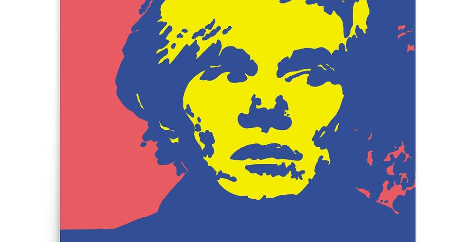 """""""Warhol (Pop) II"""" Art Print"""