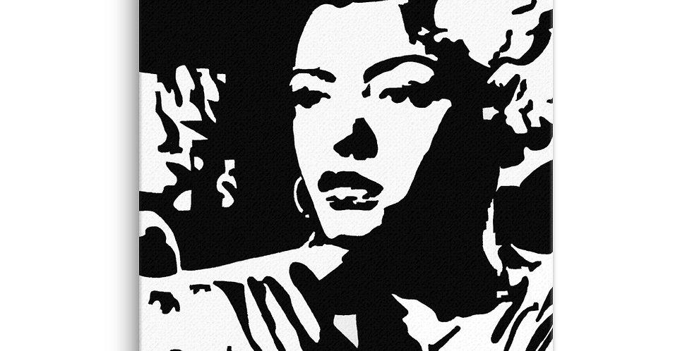 """Lady"" Canvas Print"