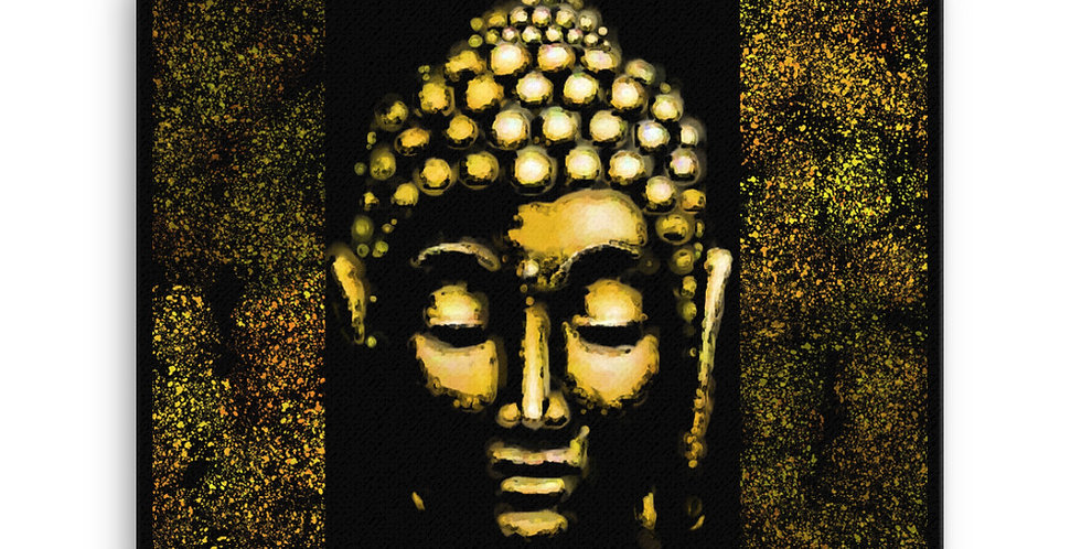 """Gold Buddha"" Canvas Print"