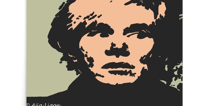 """""""Warhol (Pop)"""" Art Print"""