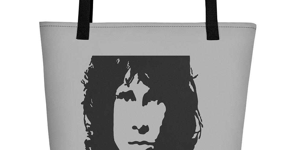 """""""Jim (Charcoal)"""" Tote Bag"""