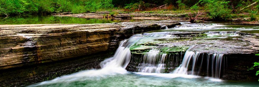 "1131 - ""Hay Creek Falls #3"" - Ltd Ed. Metal Print (assorted sizes)"