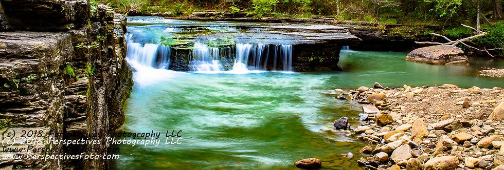 "1129 - ""Hay Creek Falls #1"" - Ltd Ed Metal Print (assorted sizes)"