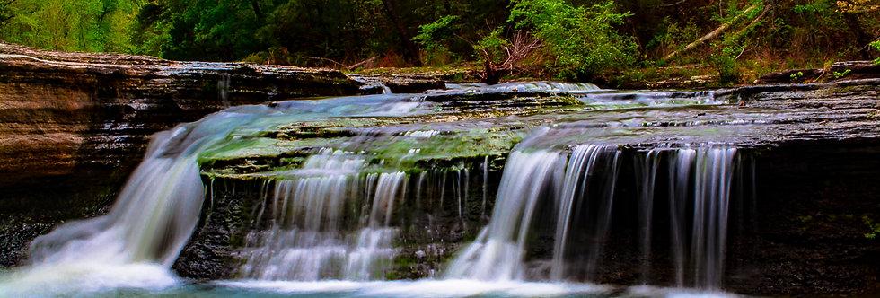"1130 - ""Hay Creek Falls #2"" - Ltd Ed. Metal Print (assorted sizes)"